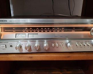 Vintage Onkyo stereo  receiver