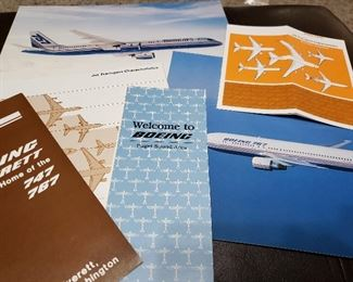 Boeing photos and marketing materials