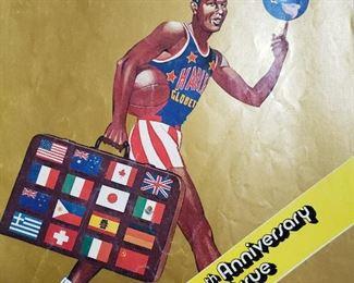 Vintage Harlem Globetrotter program