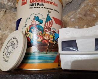 Vintage Gaf ViewMaster Bicentennial Gift Pak