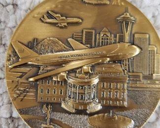Boeing Air Force One metal