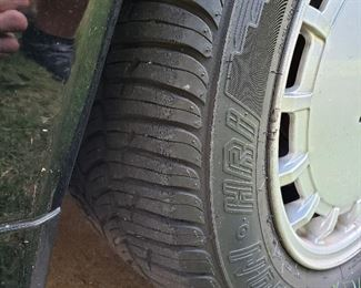Good tread on tires