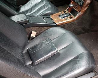 Heated leather seats seats
