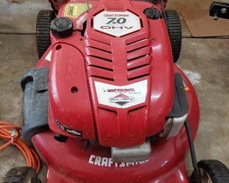 Craftsman 7HP rear drive mower