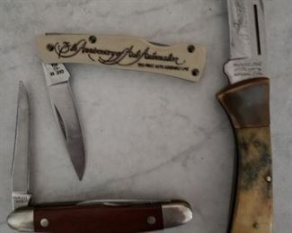 Old knives