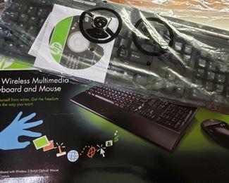 NEW HP wireless keyboard/mouse