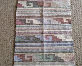 Handwoven Chimayo Blanket/weaving Southwest, native American