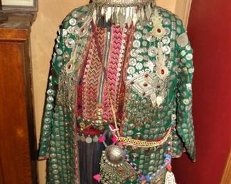 Fabulous Bedouin bridal / ceremonial robe and dress