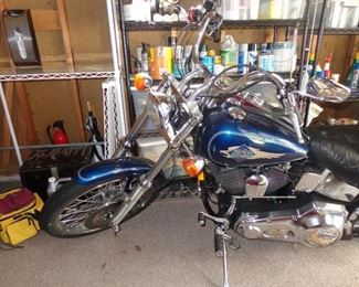 Harley Davidson 1998 HD Soft-tail Custom FXSTC with 11,375 miles.