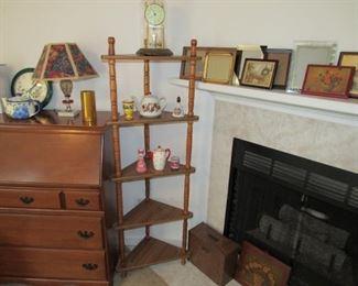 Corner Spool Shelf