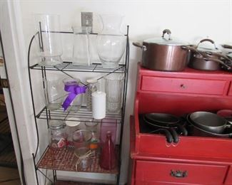 Fold-able Bakers Rack