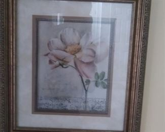 Beautifully framed and matted artwork