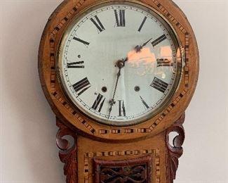 E. N. Welch Wall Regulator Clock