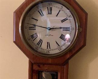 Seth Thomas Schoolhouse Regulator Clock