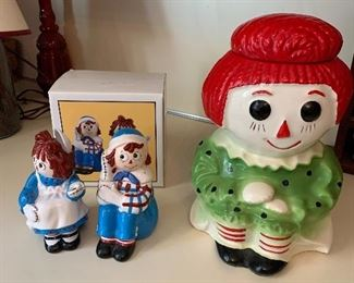 Vintage McCoy Raggedy Ann Cookie Jar