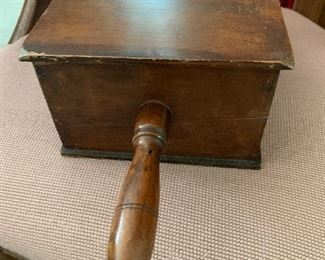 "Antique ""Black Ball Box"""