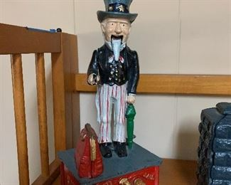 """Uncle Sam"" mechanical bank"