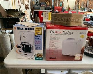 Black and Decker coffee maker - The Bread Machine