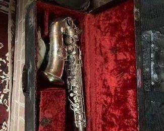 Vintage C.G. Conn Saxophone
