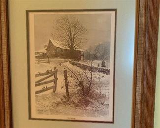 "Michael Sloan Print - ""The Gathering"""