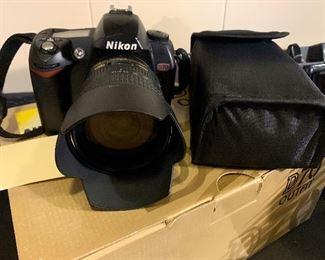 Nikon D70 Camera with Lens