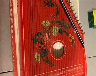 Kinder Zither Child's Musical Instrument