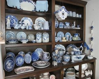 Blue and white and Wedgwood