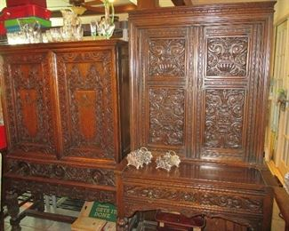 carved dining room set