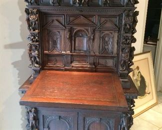 open chest with many drawers