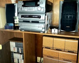 Stereo and Storage