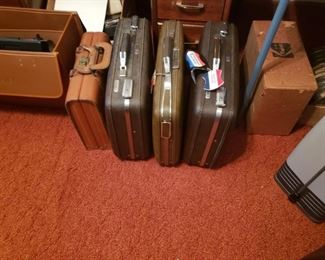 Briefcases.