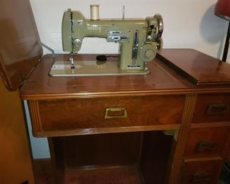 Necchi Sewing machine made in Italy.