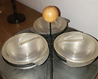 Cool vintage serving tray.
