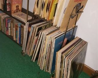 LP's and  45's