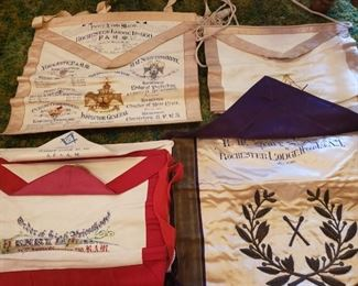 Masonic Banners.... old.