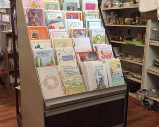 greeting cards and display