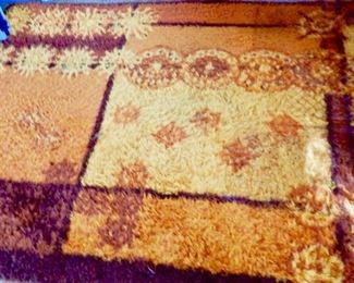 MID CENTURY RUG--HAVE SEVERAL