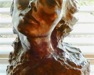 """""""PYGMALION"""" BRONZE BY FAMOUS SCULPTURE ARTIST FELIX DE WELDON."""