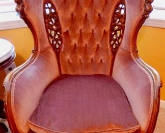 A PAIR OF THESE EXCEPTIONAL CHAIRS