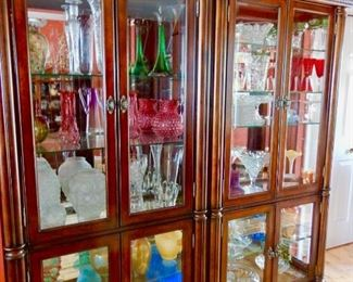 WONDERFUL CABINETS FILLED TO THE BRIM!