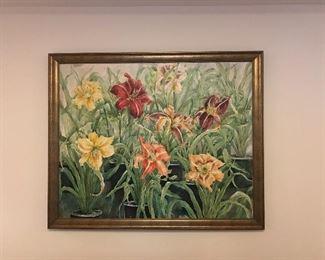 Original Floral Still Life
