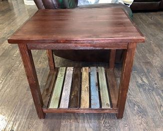 And, Side Table