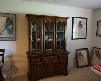 China Cabinet, lithographs