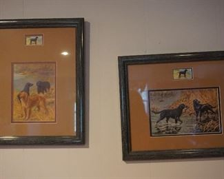 dog framed pictures