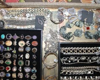 Beautiful sterling silver jewelry, 50% off original prices!