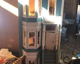 Front of doll house