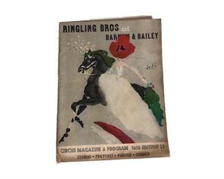 1956 Ringling circus program.