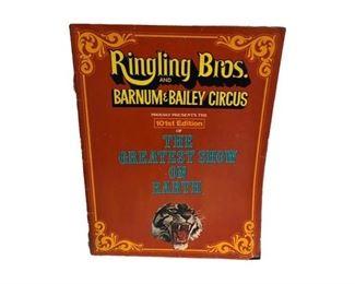 Memorabilia from Ringling Circus.