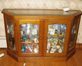 couch height curio BUY IT NOW $ 95.00