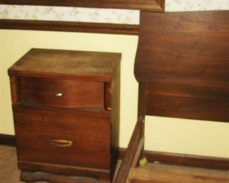 MCM night stand   BUY IT NOW $ 30.00